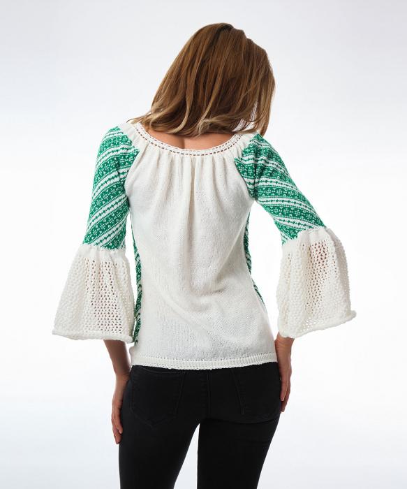 IE tricotata cu maneci clopot Onibon 1