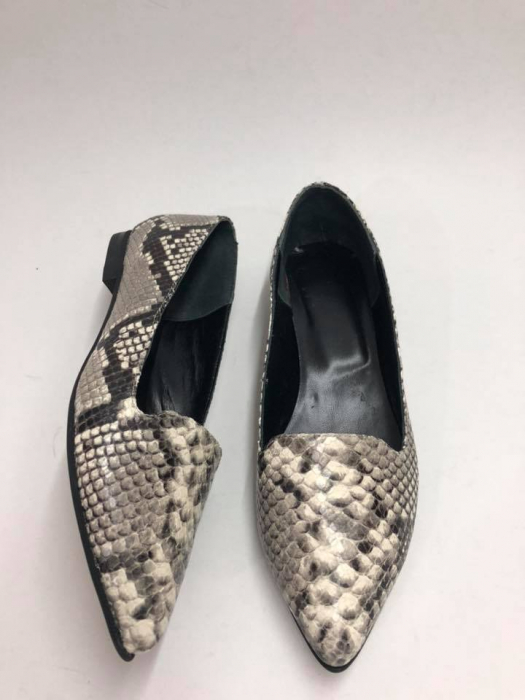Loafers dama din piele naturala Snake Print Merry, 37 0