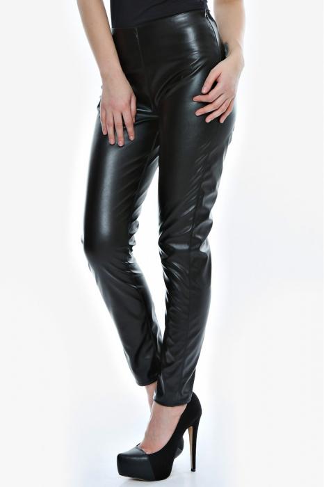Pantaloni piele ecologica P02, S
