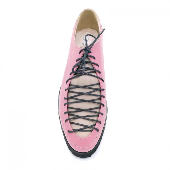 Pantofi dama tip Oxford Pink Laces 3