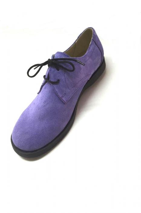 Pantofi din piele intoarsa Pax Lila 2