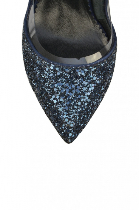 Pantofi Mihai Albu Azurite Glamour Pumps 3