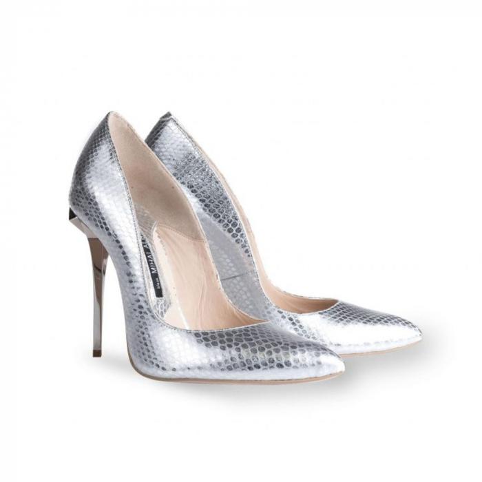 Pantofi Mihai Albu din piele Specchio Stealth