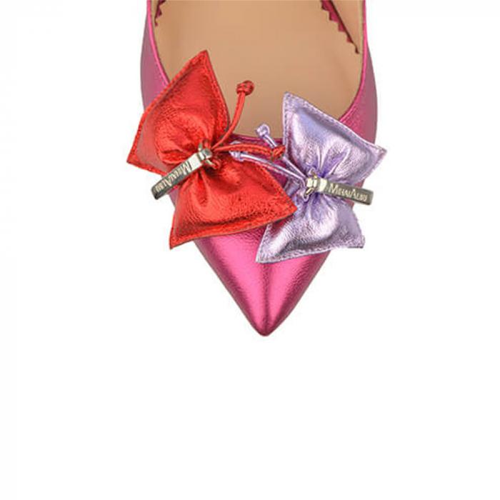 Pantofi Mihai Albu din piele Ruby Butterfly, 39 3