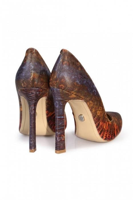 Pantofi Mihai Albu din piele texturata 2
