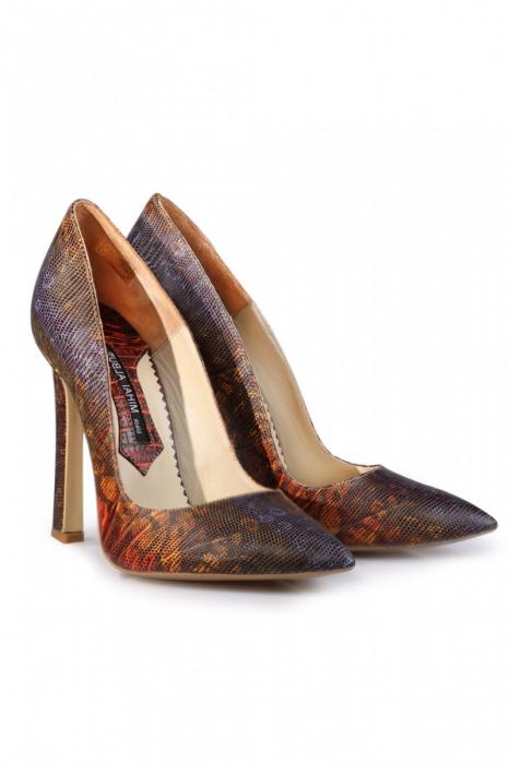Pantofi Mihai Albu din piele texturata 1
