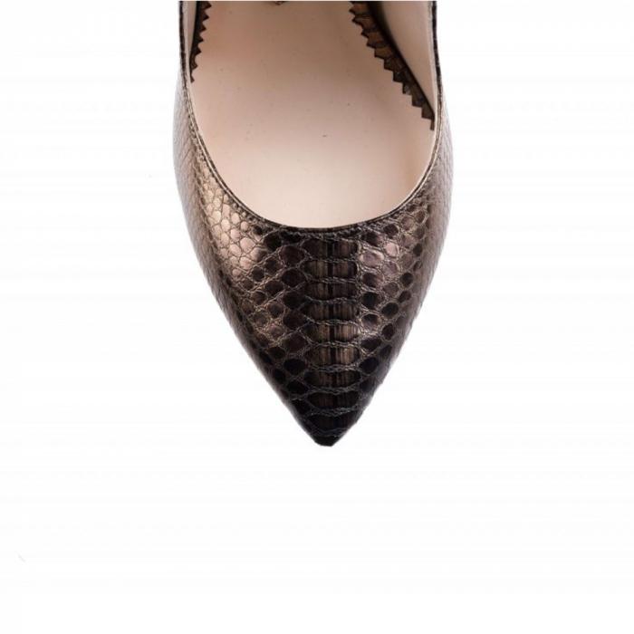 Pantofi Mihai Albu din piele texturata Bijou Equateur 3