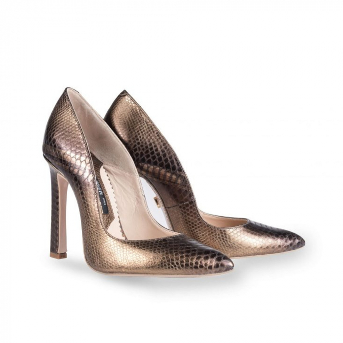Pantofi Mihai Albu din piele texturata Bijou Equateur 1
