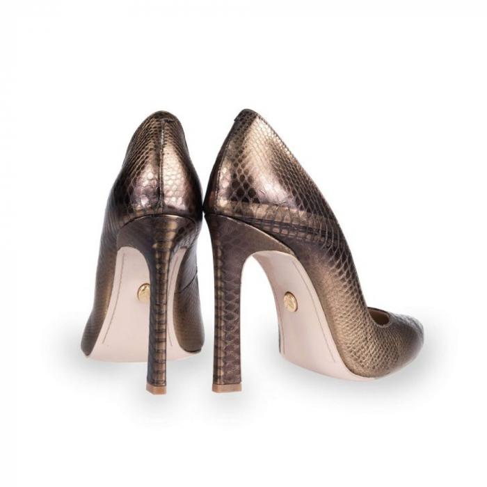 Pantofi Mihai Albu din piele texturata Bijou Equateur 2