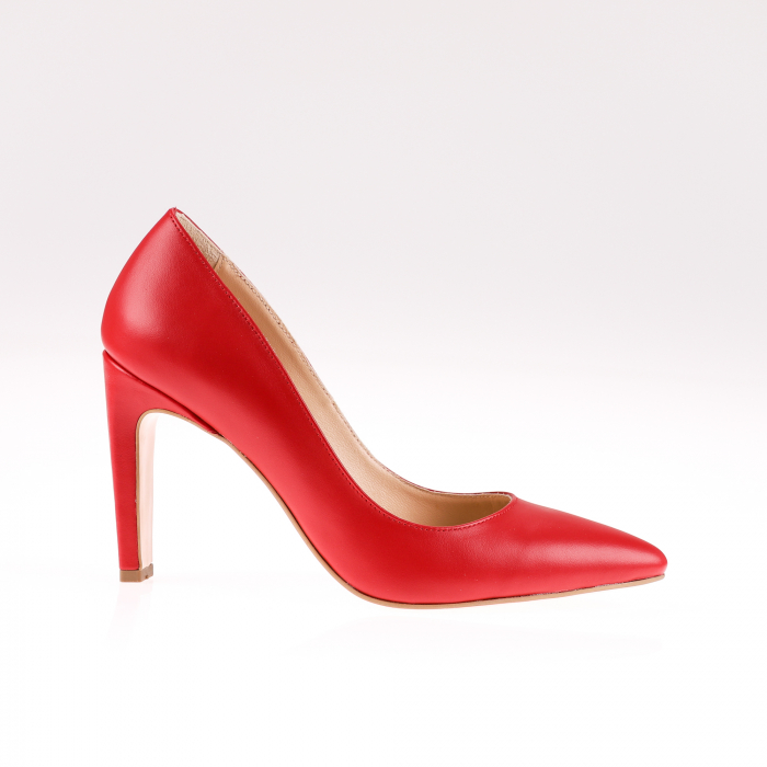 Pantofi stiletto din piele naturala Red Box 0