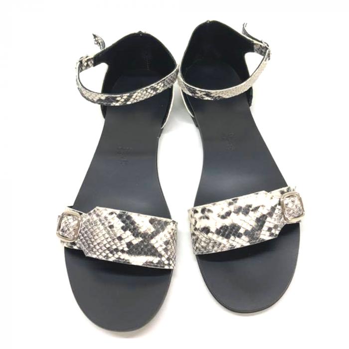 Sandale dama din piele Ada Snake Print 0