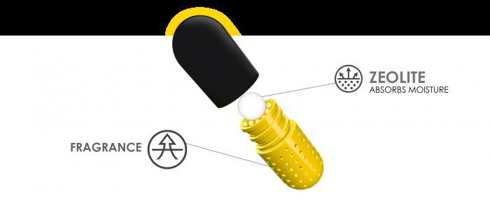 Capsule odorizante pentru incaltaminte Crep Protect 2