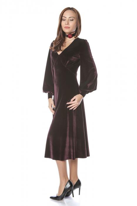 Rochie eleganta din catifea Katia 1