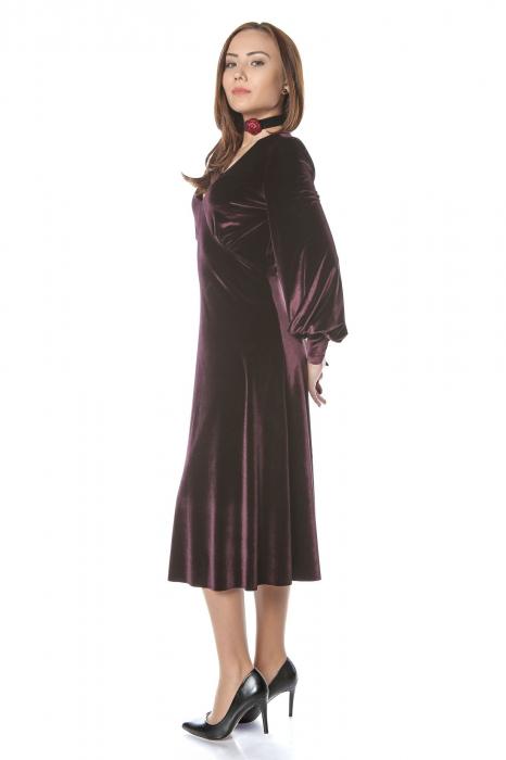 Rochie eleganta din catifea Katia 2