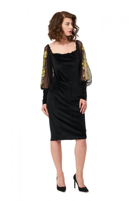 Rochie eleganta din catifea Tess 2
