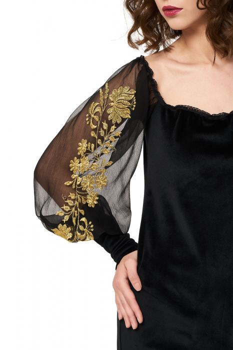 Rochie eleganta din catifea Tess 1