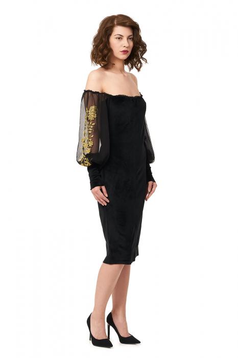 Rochie eleganta din catifea Tess 0