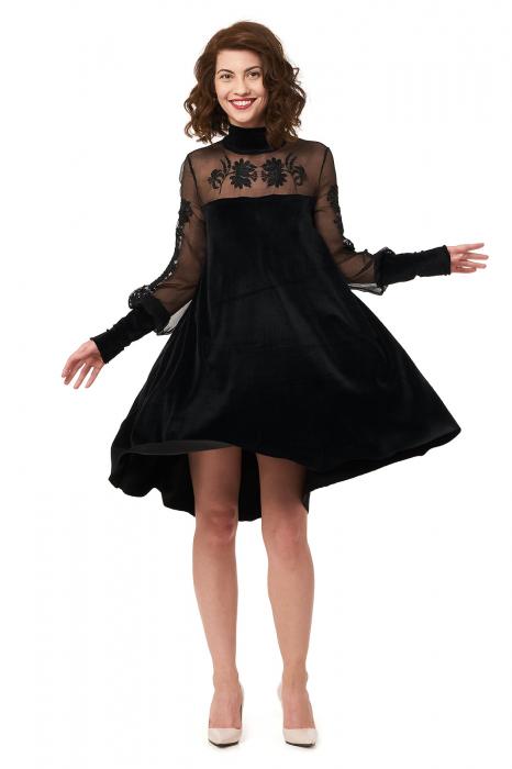 Rochie eleganta din catifea Teona 0