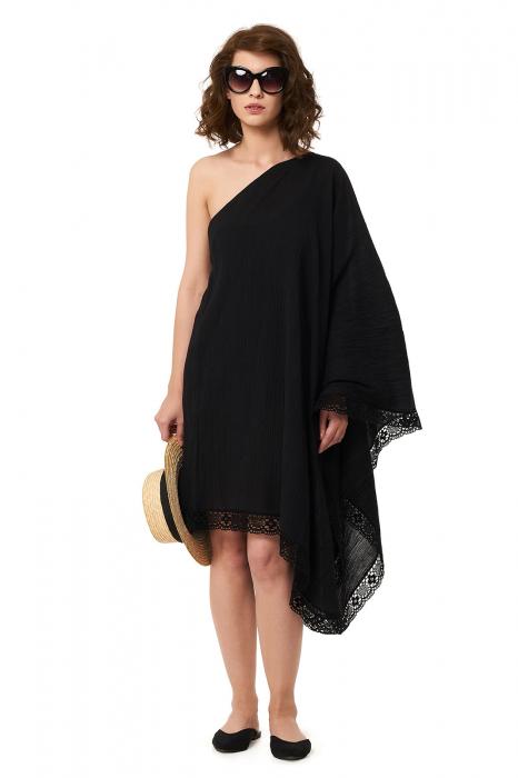Rochie de plaja din panza topita Paloma 0