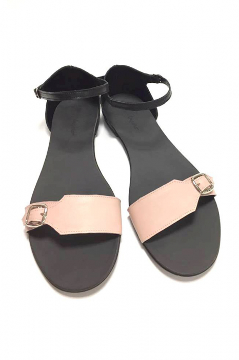 Sandale de dama din piele Ada Nude [0]