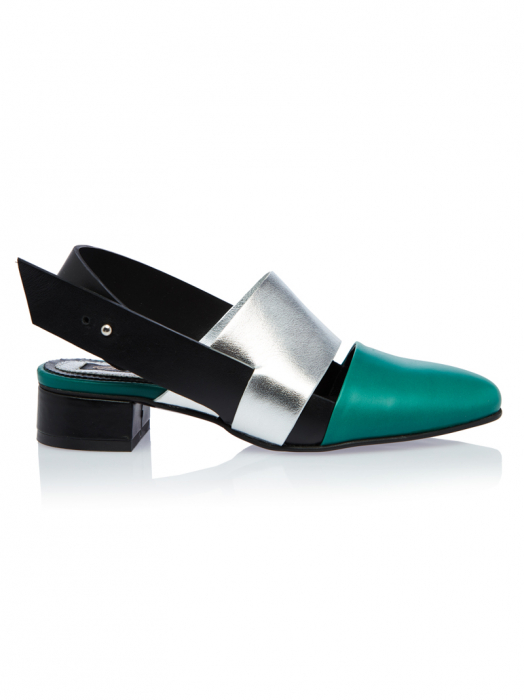 Pantofi dama din piele naturala in trei culori Page 0