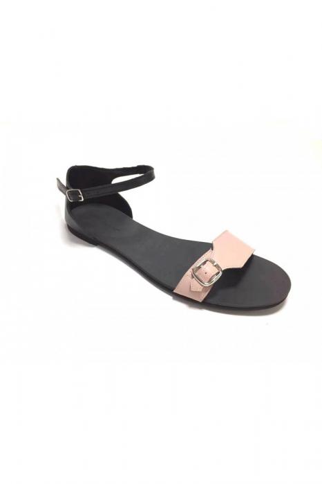 Sandale de dama din piele Ada Nude [1]