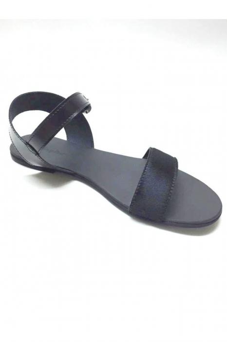 Sandale de dama din piele Black Pony Fanny 2
