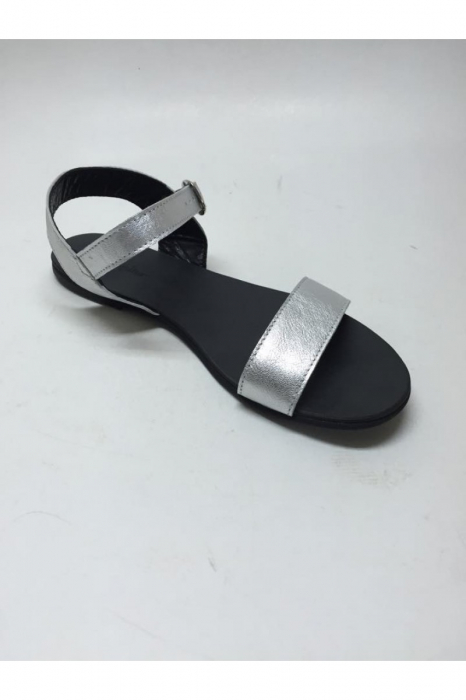 Sandale de dama din piele Silver Fanny 3