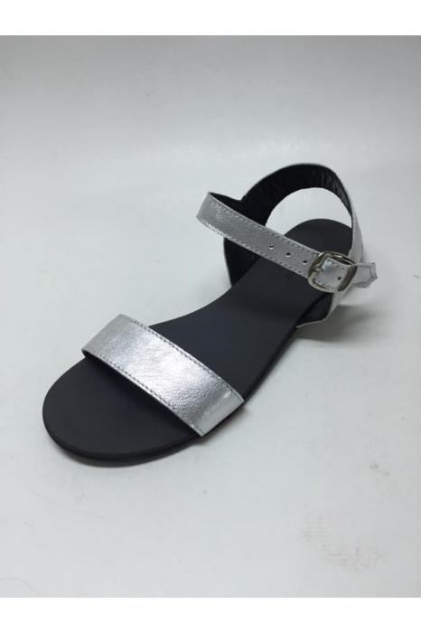 Sandale de dama din piele Silver Fanny 2