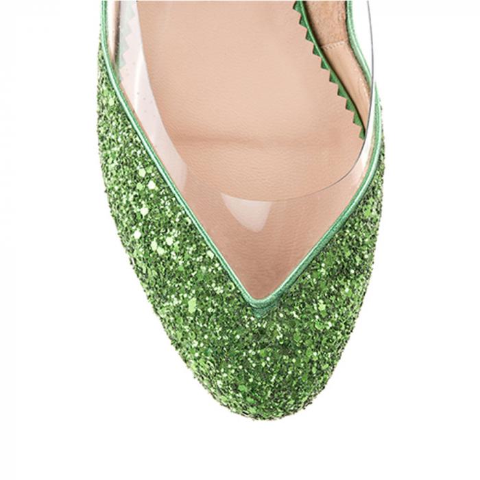 Balerini Mihai Albu din piele Emerald Glamour [2]