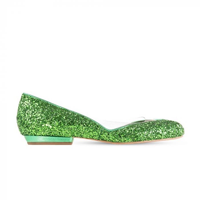 Balerini Mihai Albu din piele Emerald Glamour [3]