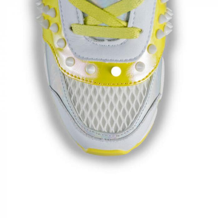 Sneakersi Mihai Albu Armadillo din piele naturala 3
