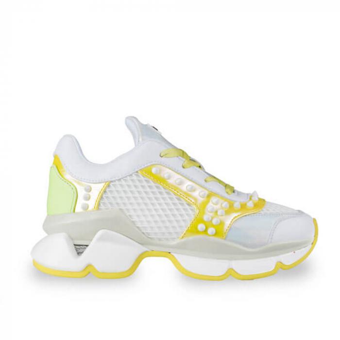 Sneakersi Mihai Albu Armadillo din piele naturala 0