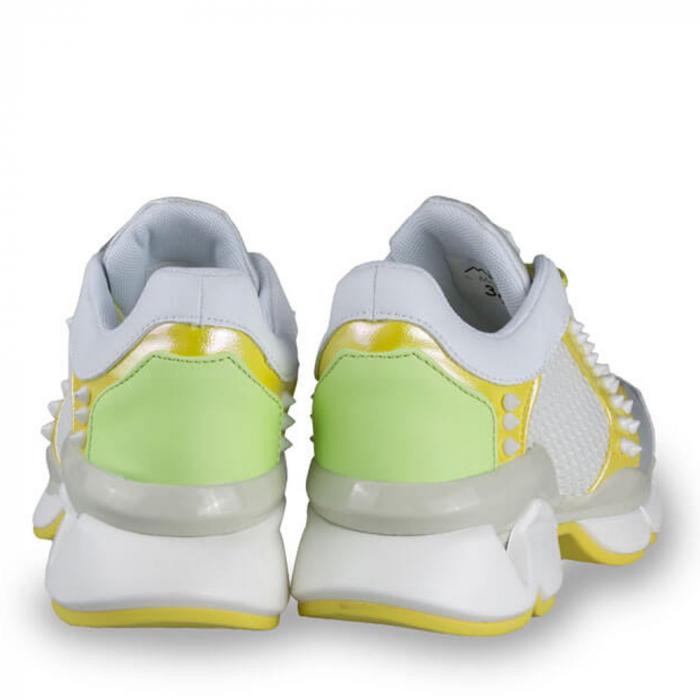 Sneakersi Mihai Albu Armadillo din piele naturala 2