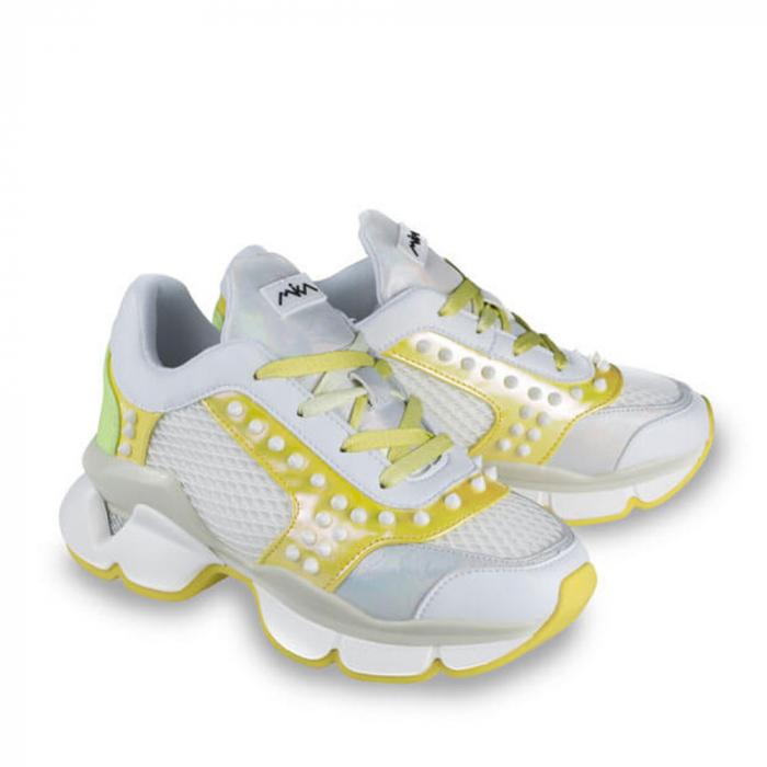 Sneakersi Mihai Albu Armadillo din piele naturala 1
