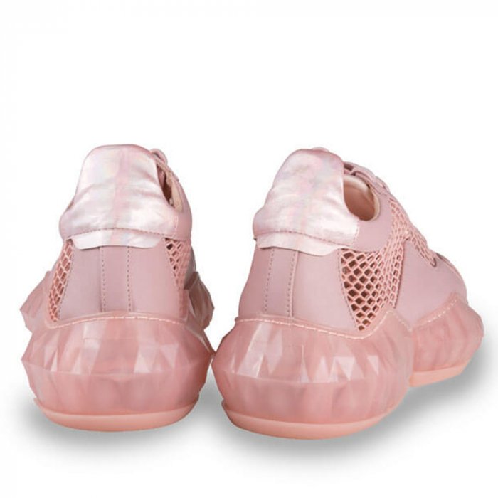 Sneakersi Mihai Albu Pink Diamond din piele naturala 2