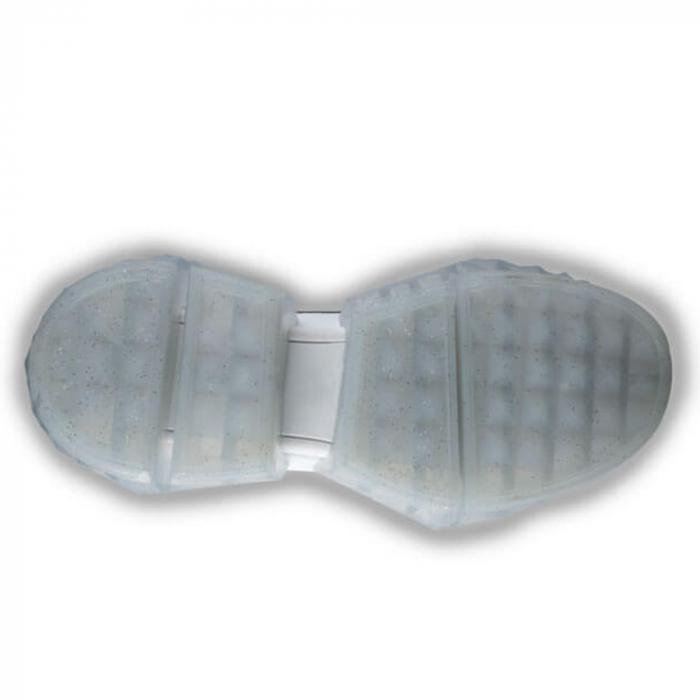Sneakersi Mihai Albu White Diamond din piele naturala 4