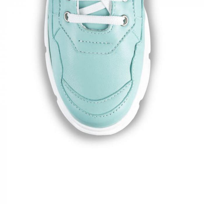 Sneakersi Mihai Albu Aqua din piele naturala 3