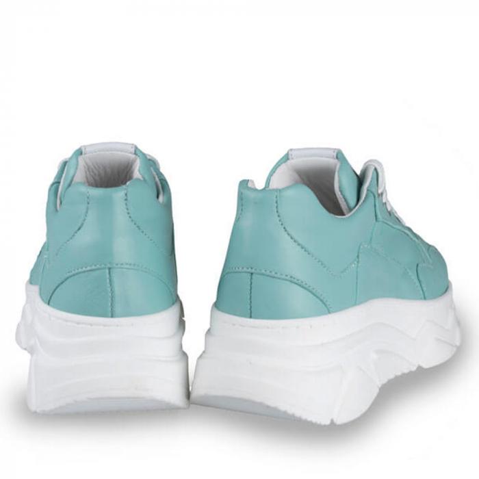 Sneakersi Mihai Albu Aqua din piele naturala 2