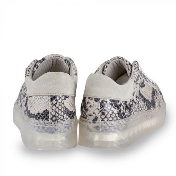 Sneakersi Mihai Albu Python din piele naturala 2