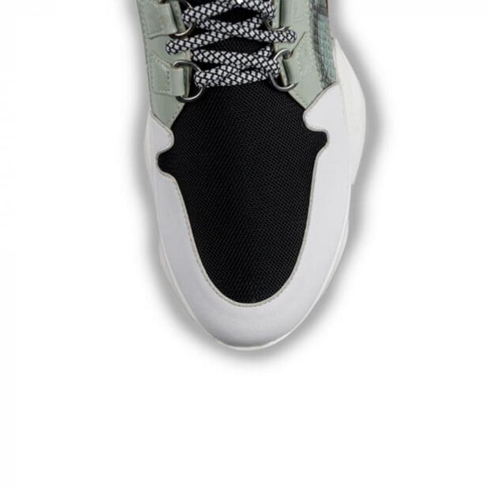 Sneakersi Mihai Albu Wild Green din piele naturala 3