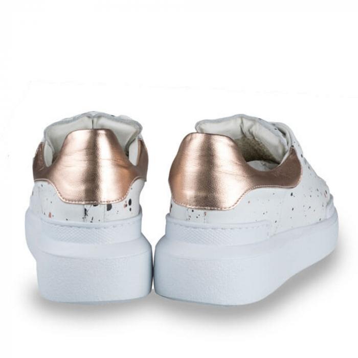Sneakersi Mihai Albu Spots din piele naturala 2