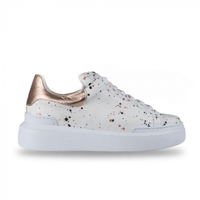 Sneakersi Mihai Albu Spots din piele naturala 0