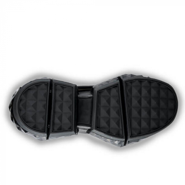 Sneakersi Mihai Albu Black Diamond din piele naturala 4