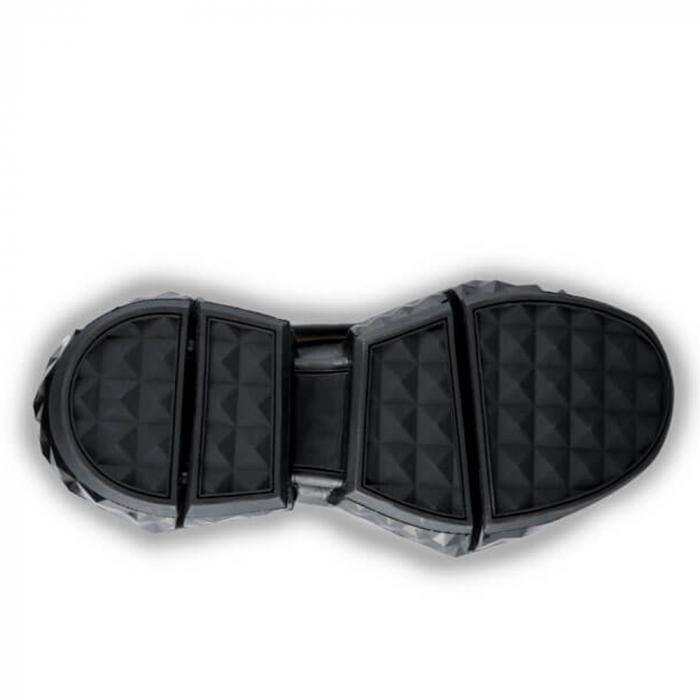 Sneakersi Mihai Albu Black Diamond din piele naturala, 37 4