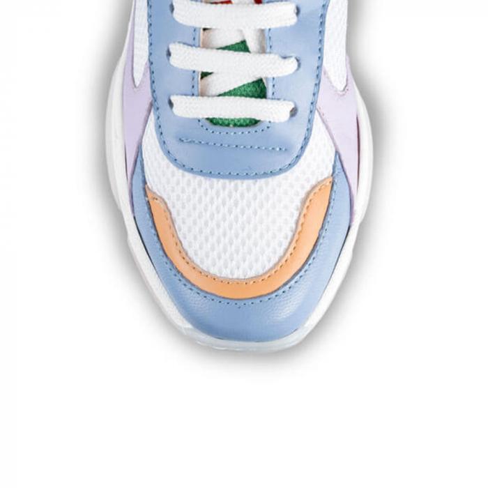 Sneakersi Mihai Albu Rainbow din piele naturala 3