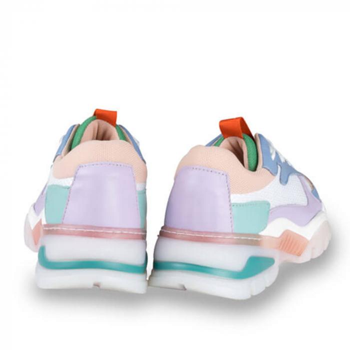 Sneakersi Mihai Albu Rainbow din piele naturala 2