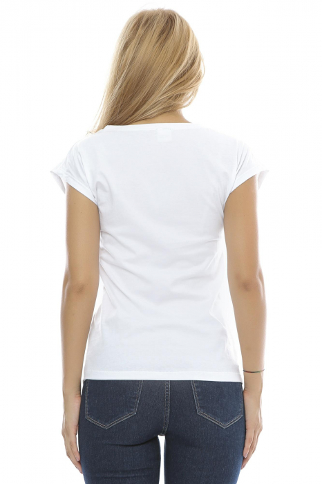 Tricou dama broderie traditionala B90 2