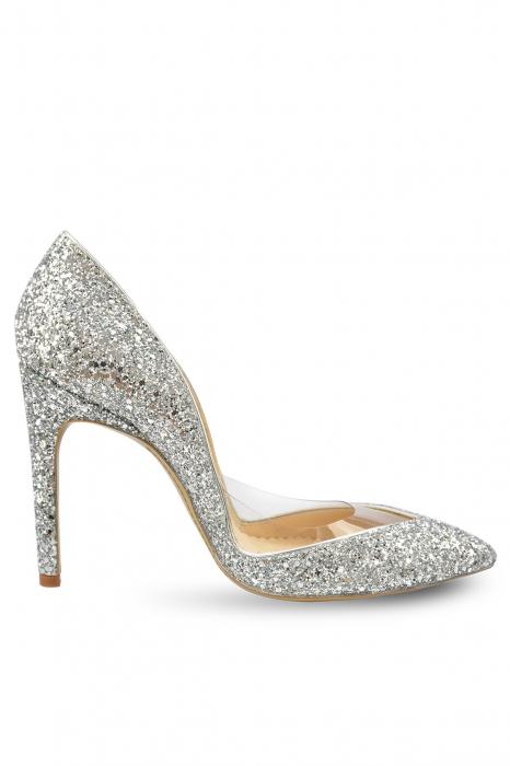 Pantofi Mihai Albu Diamond Glamour Pumps, 38 0