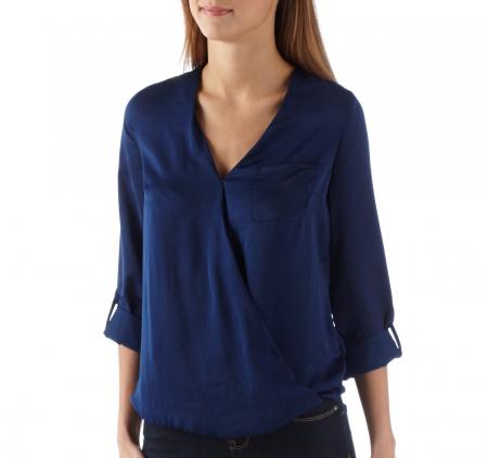 Bluza Camaieu V-neck petrecuta0